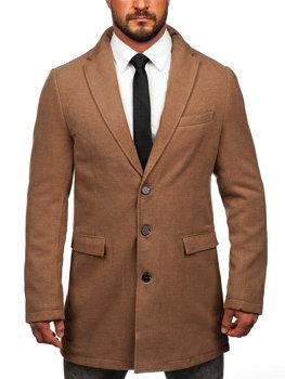 Чоловіче зимове пальто кемел Bolf 1047