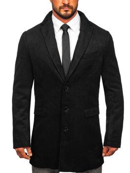 Чоловіче зимове пальто чорне Bolf 1047 08ef236f10d1f