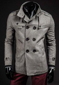 Чоловіче пальто сіре Bolf 8857B ab799625a551f