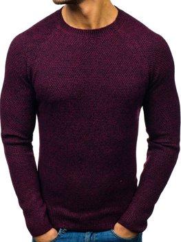 Чоловічий светр бордовий Bolf H1810
