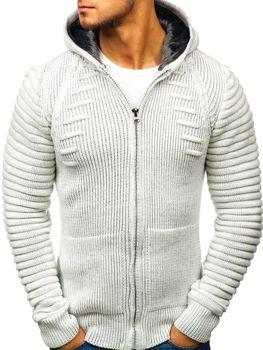 Чоловічий светр екрю Bolf 20005