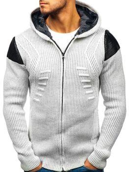 Чоловічий светр екрі Bolf 20009