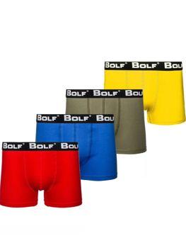 Чоловічі боксери мультиколор Bolf 0953-4P 4 шт.