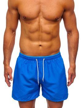 Чоловічі сині пляжні шорти Bolf 303