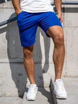Чоловічі спортивні шорти кобальтові Bolf KK301