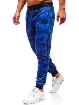 Чоловічі спортивні штани джоггеры камуфляж-кобальт Bolf MK19