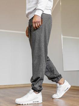 Чоловічі спортивні штани джогери графітові Bolf Q5009 6e072c1c1c103