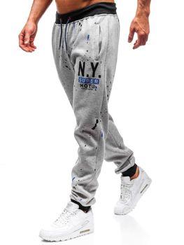 Чоловічі спортивні штани джогери сірі Bolf 55067 1f7831dfb7794