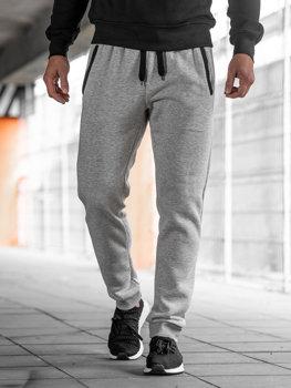 Чоловічі спортивні штани джогери сірі Bolf AK13-1