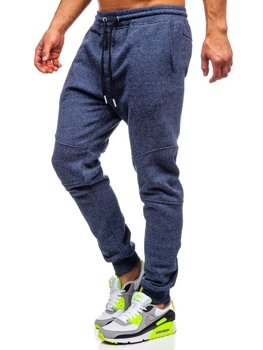 Чоловічі спортивні штани темно-сині Bolf Q3778