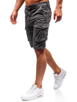 Чоловічі шорти карго графітові Bolf 5702-A