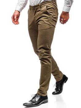 Чоловічі штани чинос хакі Bolf 2901
