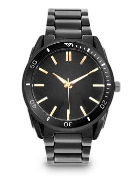 Чорний Чоловічий наручний годинник зі сталі Bolf 5690