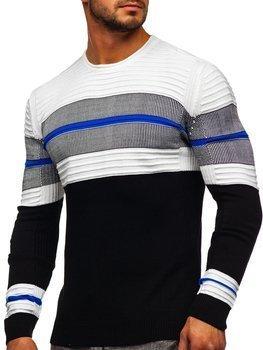 Чорний чоловічий светр Bolf 1058