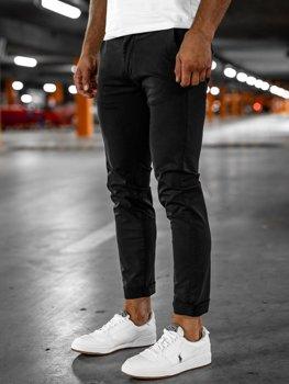 Чорні чоловічі штани чіноси Bolf 1146