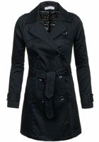 Пальто жіноче AUTHENTIC STYLE 4217 чорне