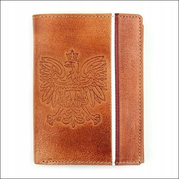 Чоловічий гаманець шкіряний світло-коричневий 679
