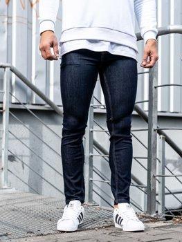 Чоловічі джинсові штани чорнильні Bolf 61827