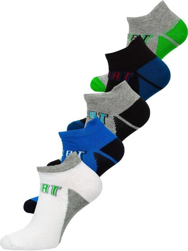Чоловічі шкарпетки мультиколор Bolf X10033-5P 5 шт.