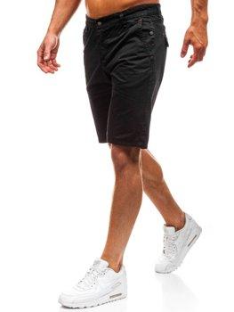 Чоловічі шорти чорні Bolf 3041