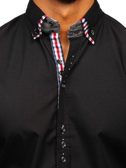 Сорочка чоловіча BOLF 0926 чорна