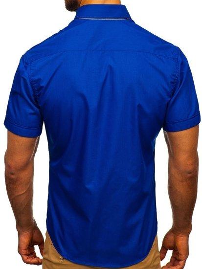 Сорочка чоловіча BOLF 3507 волошкова