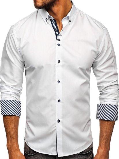 Сорочка чоловіча BOLF 5796 біла