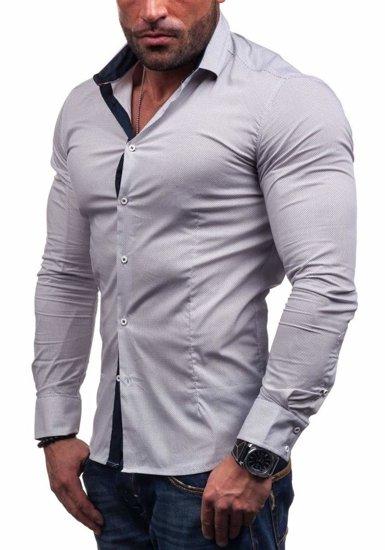 Сорочка чоловіча N. Men 7185 біла