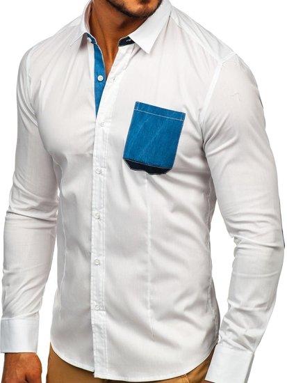 Сорочка чоловіча N. Men 7192 біла