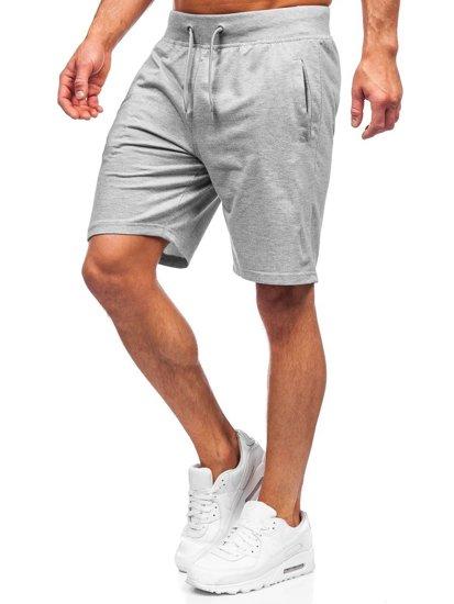 Сірі спортивні шорти чоловічі Bolf K10003