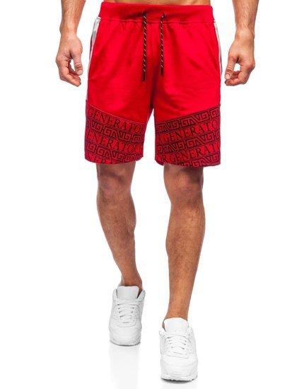 Червоні чоловічі шорти Bolf KS2563