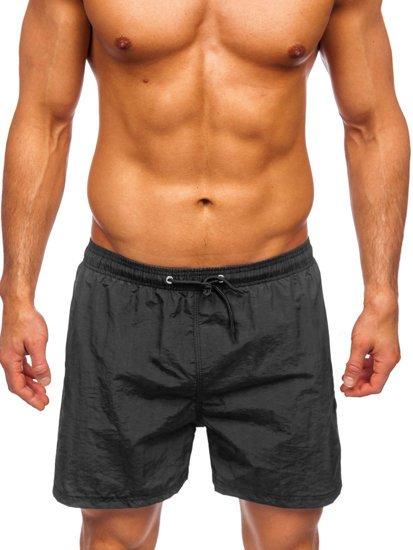 Чорні чоловічі пляжні шорти Bolf YW07003