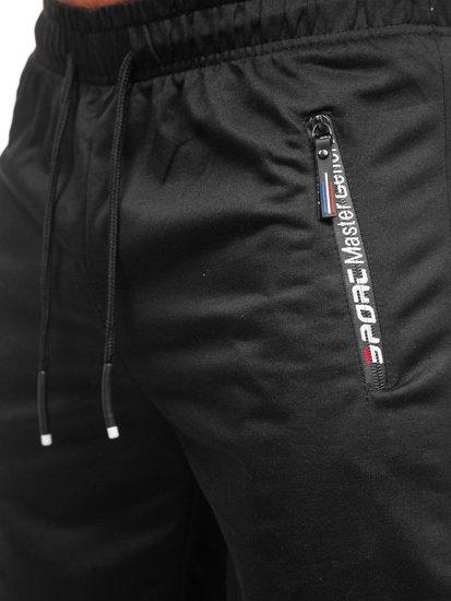 Чорні чоловічі спортивні шорти Bolf JX512