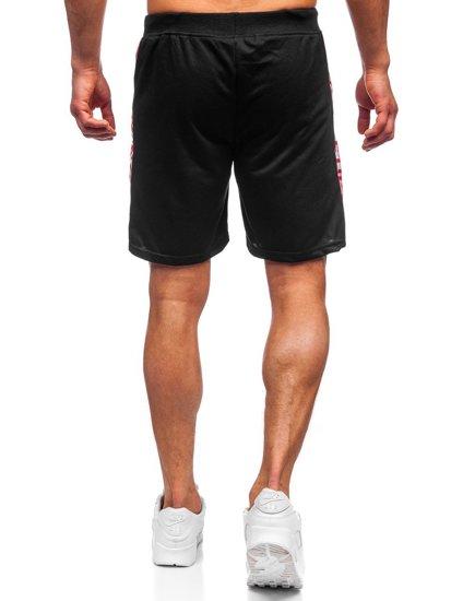Чорні чоловічі спортивні шорти Bolf KS2577
