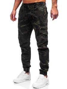 Зелені чоловічі штани джоггери карго Bolf CT6026S0