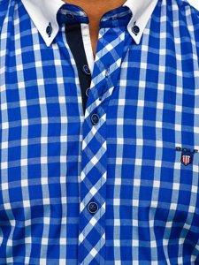 Сорочка чоловіча BOLF 5737 кобальт