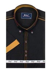 Сорочка чоловіча BOLF 6513 чорна