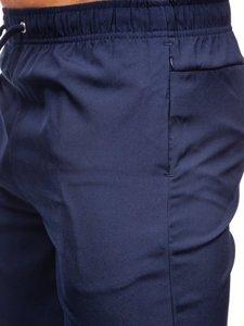 Темно-сині чоловічі спортивні шорти Bolf HH037