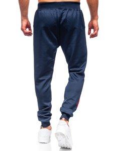 Темно-сині чоловічі спортивні штани Bolf K10137