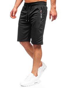 Чорні чоловічі спортивні шорти Bolf JX503
