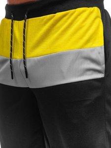 Чорні чоловічі спортивні шорти Bolf KS2565